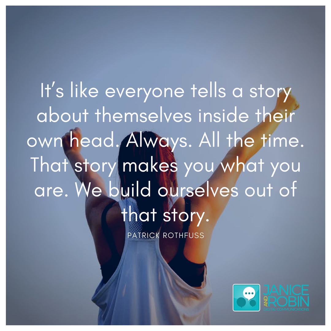 Who's the Hero in Your Story?